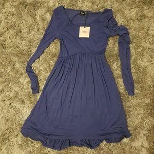 ASOS long sleeve babydoll dress, 4, NWT